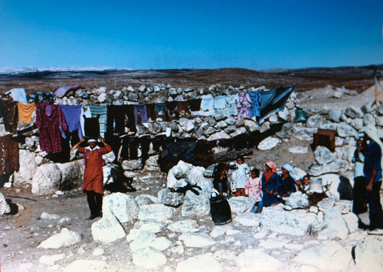 Susiya village photo taken sometime in the 80s