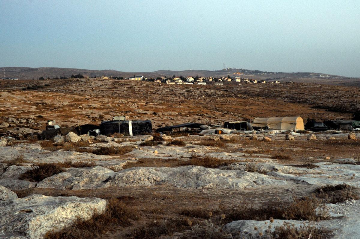 قرية سوسيا في الضفة الغربية رمز للصراع الإسرائيلي الفلسطيني